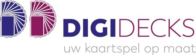 Digidecks kaartspellen op maat logo